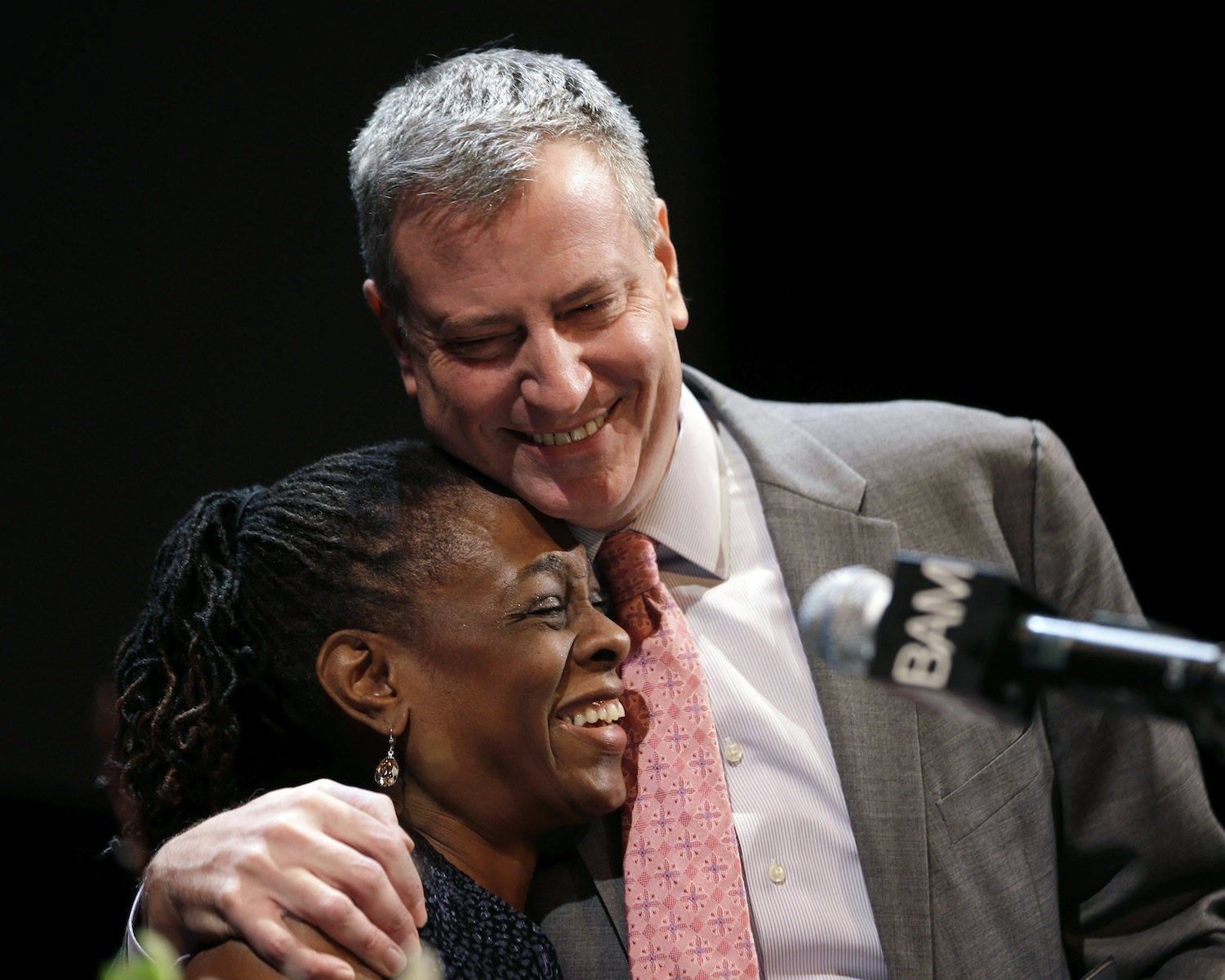 Bill-de-Blasio-and-his-wife-Chirlane-McCray