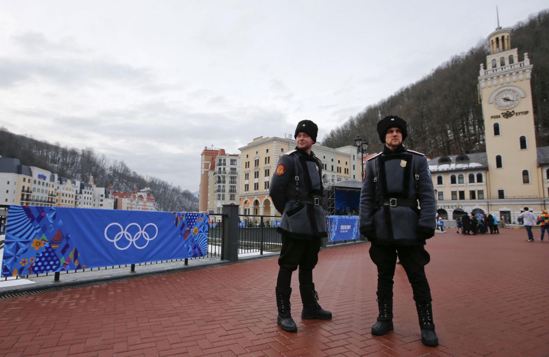 Cossack-soldiers