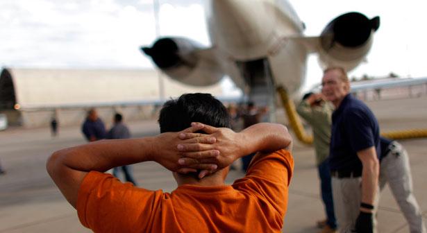 Deportation-plane
