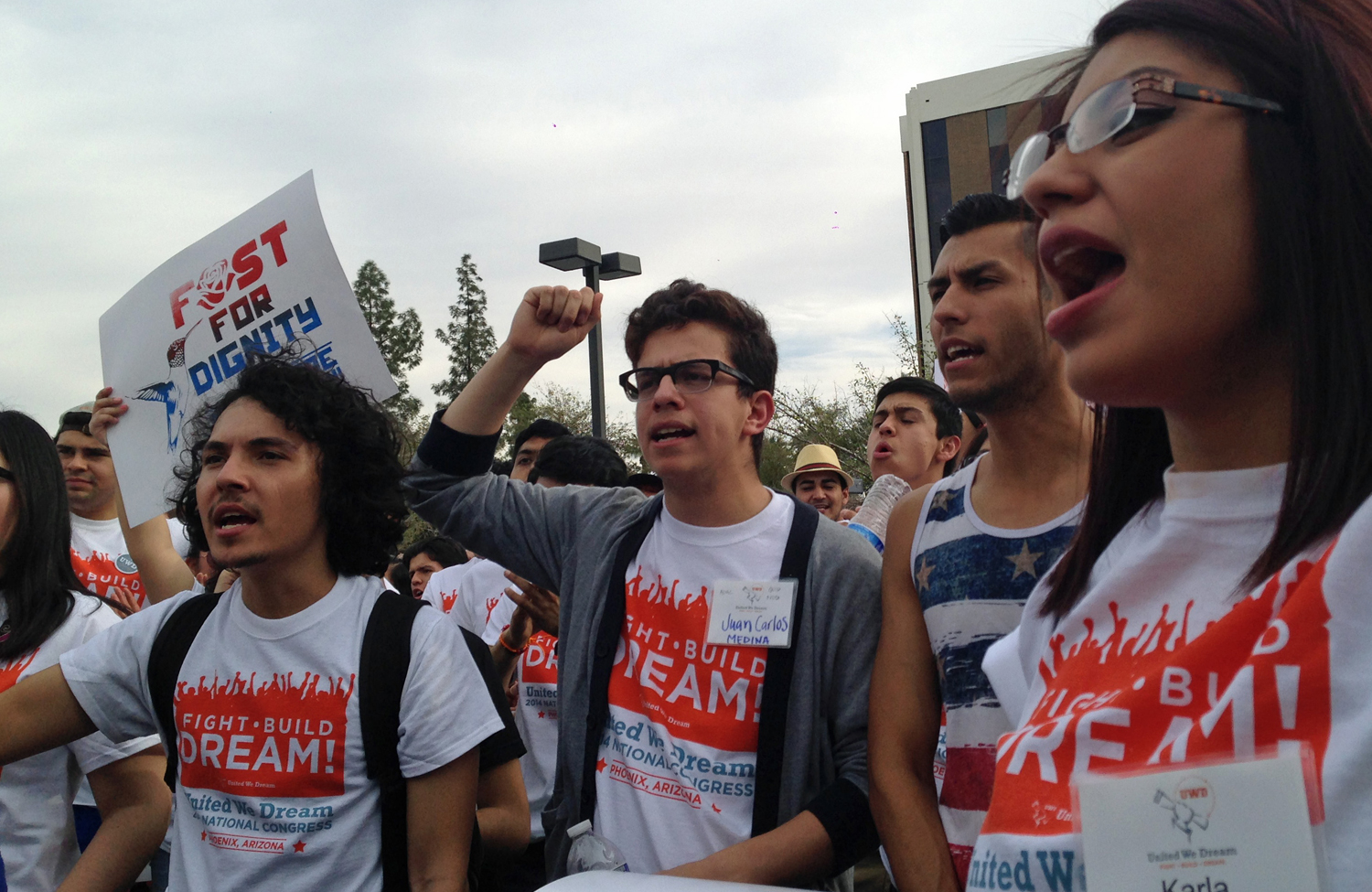 Youth-from-United-We-Dream-call-for-an-end-to-deportations