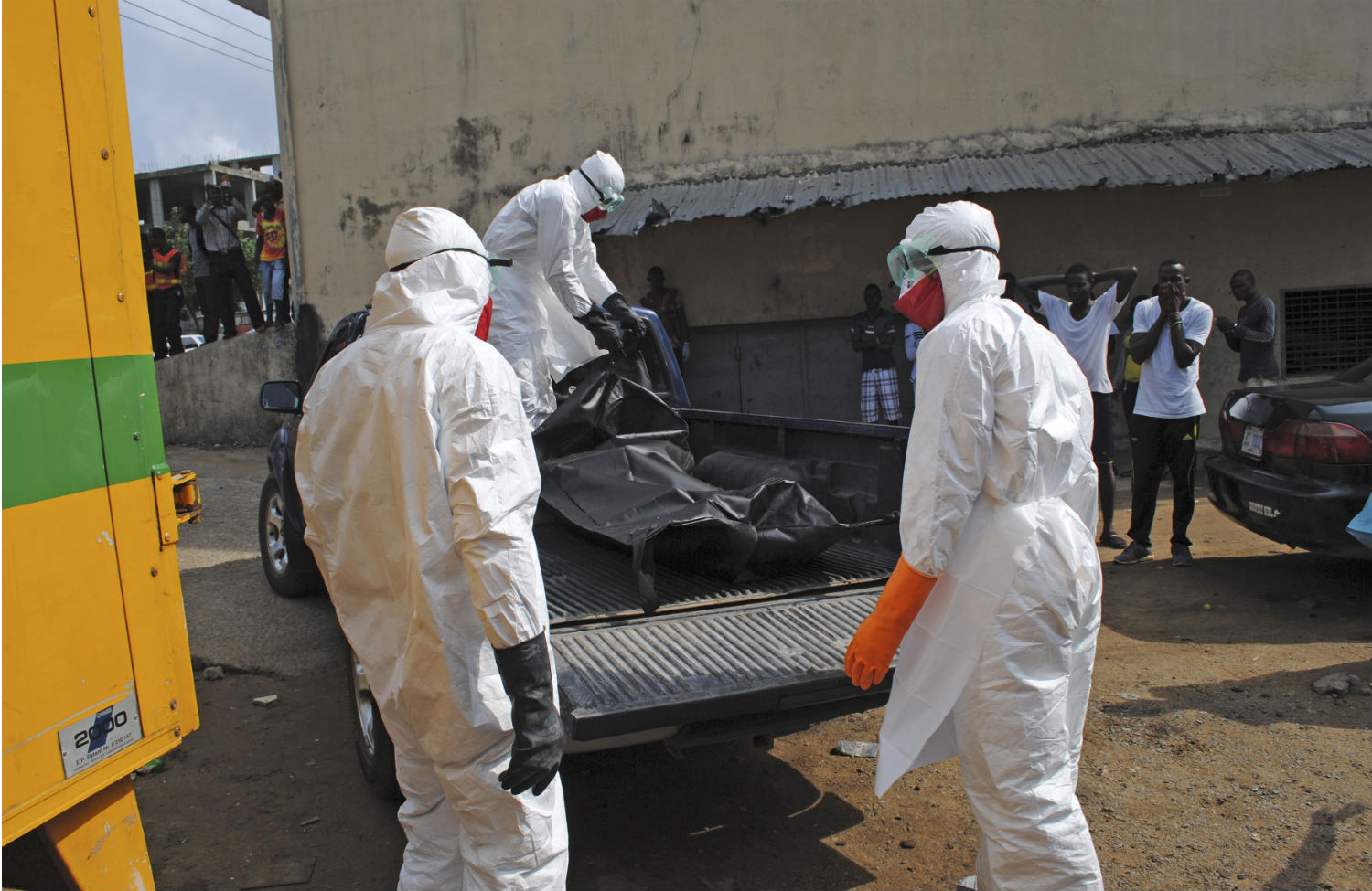 Ebola-Workers