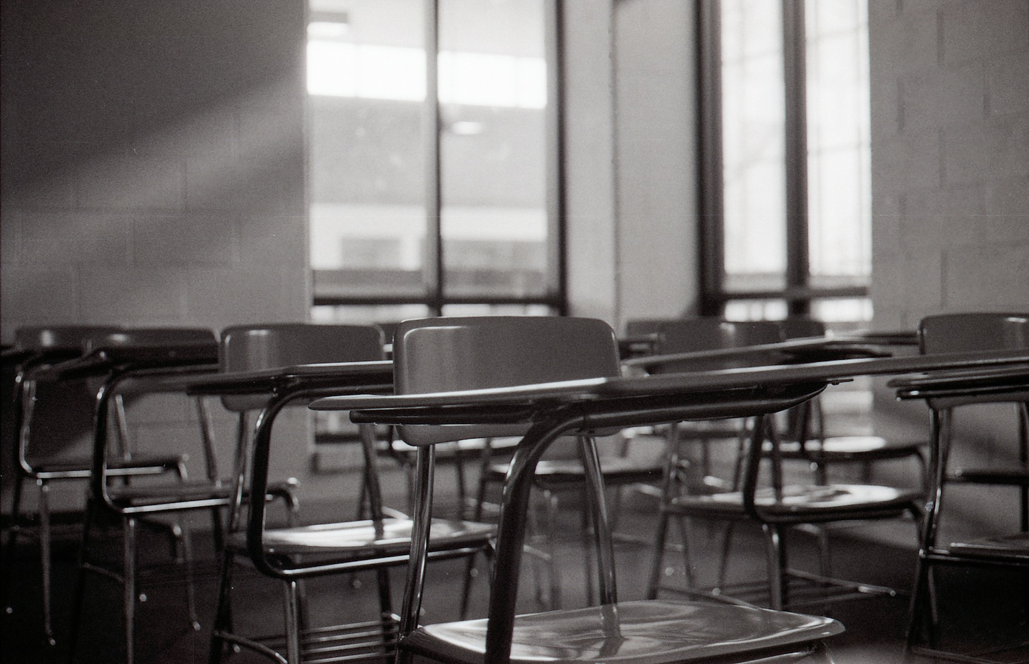 Empty-classroom-at-Wayne-County-Community-College