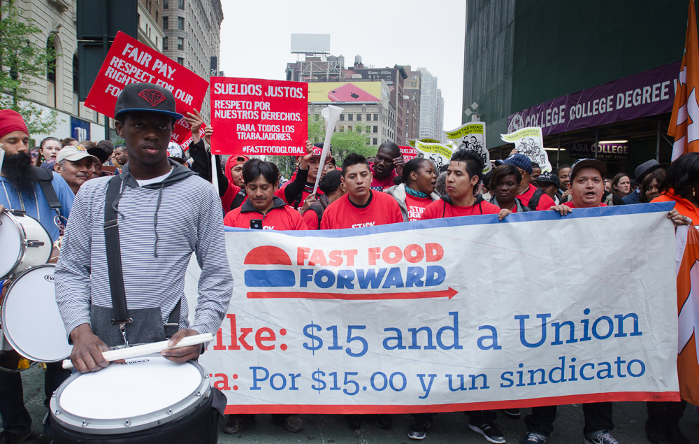 The Fast-Food Worker Movement Has Gone Global