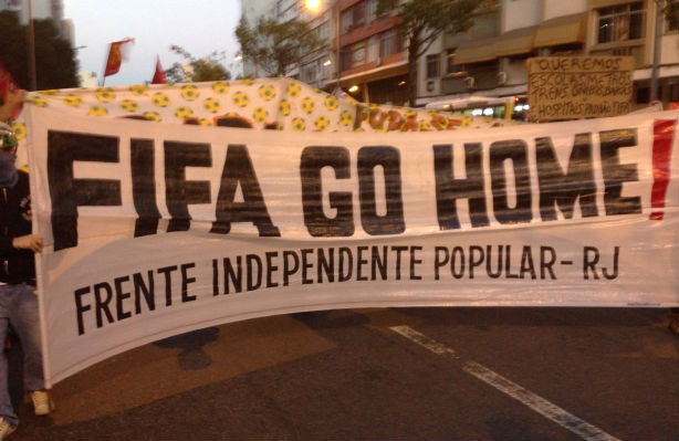 Fifa-Protest-Banner