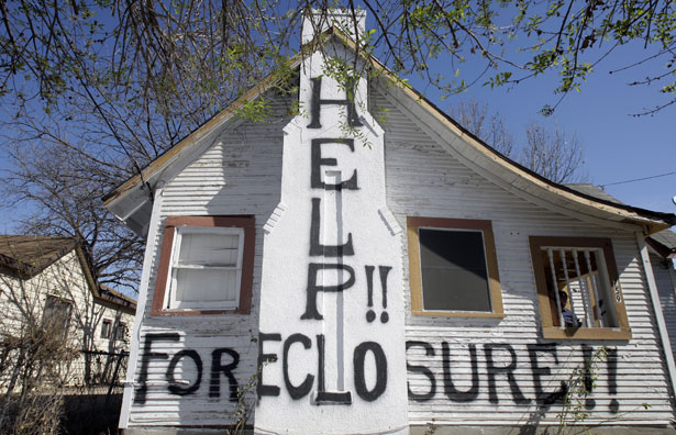 A-home-under-threat-of-foreclosure
