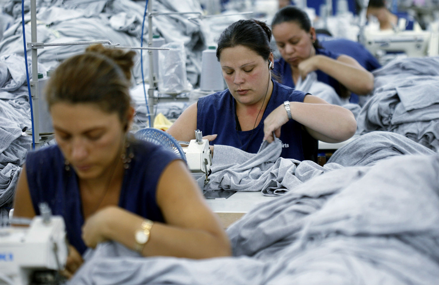 Garment-workers