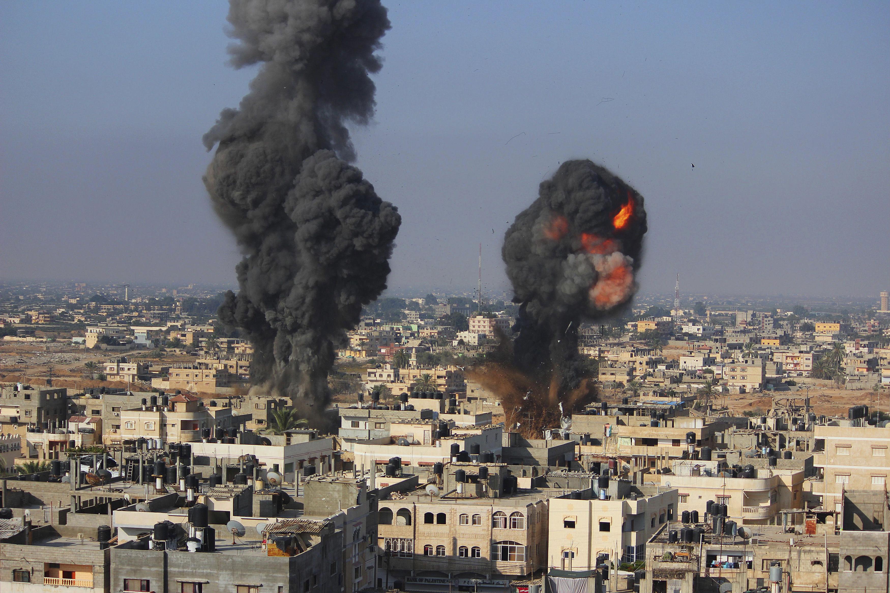 Obama Fiddles While Gaza Burns The Nation
