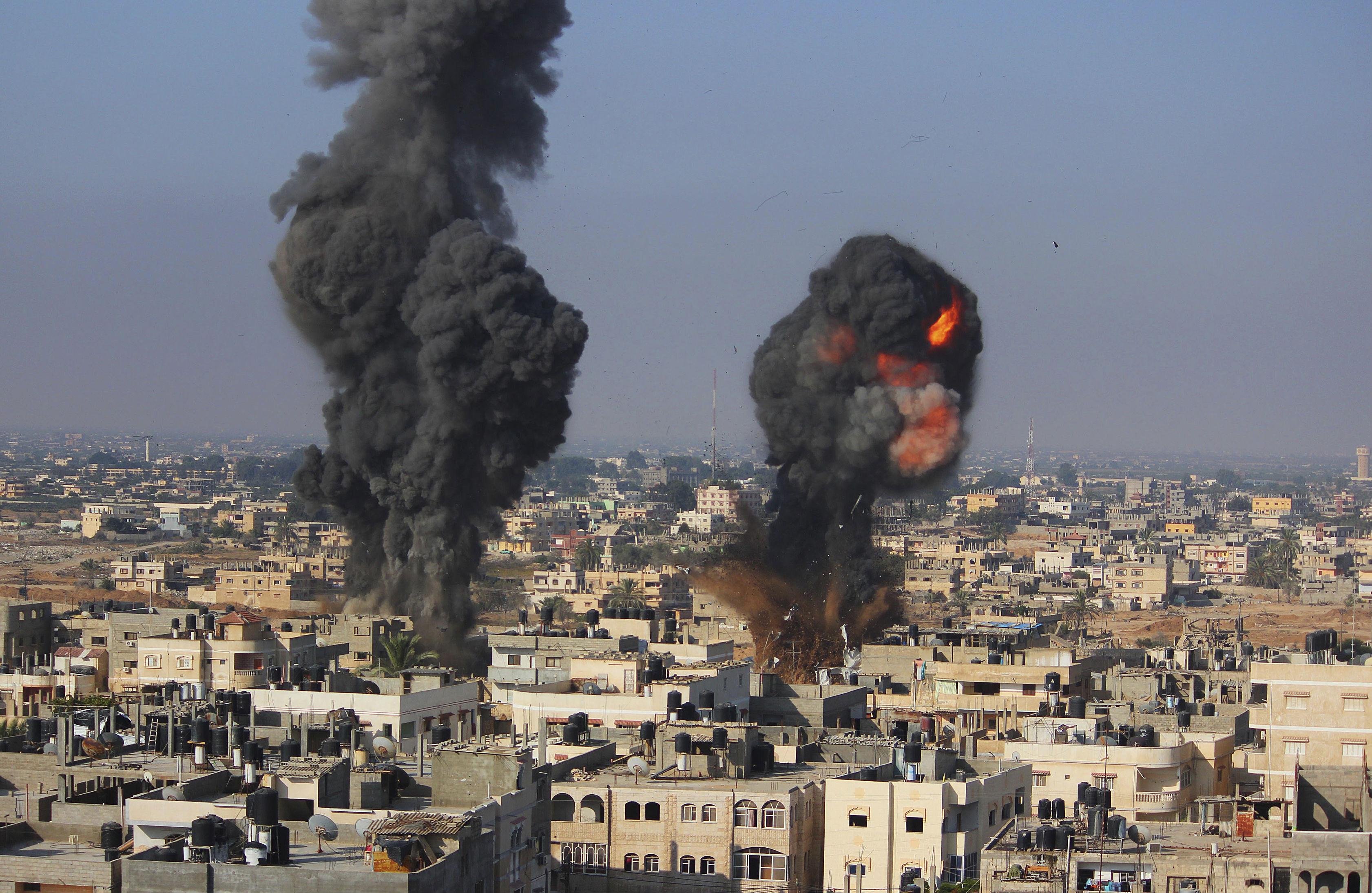 Air-strike-gaza