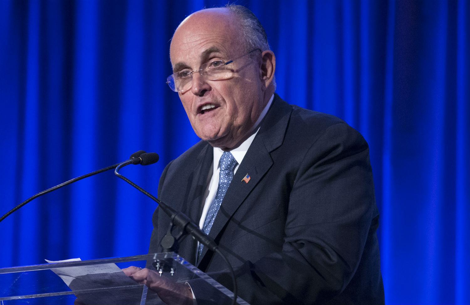 Giuliani's Love for His Country Is Equal to the Money He Makes