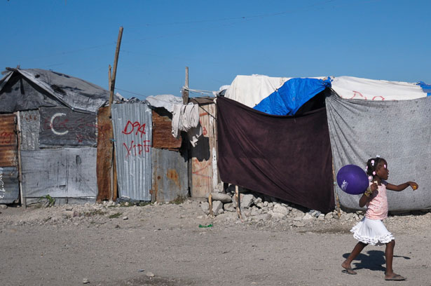Haitian-displacement-camp