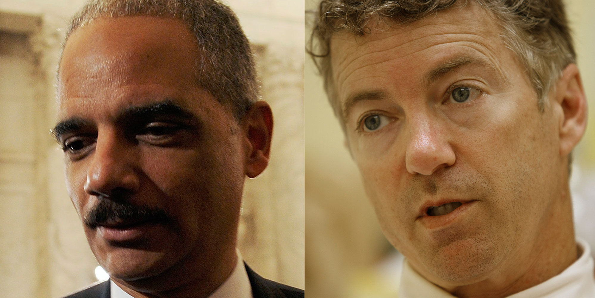 Attorney-General-Eric-Holder-ReutersJonathan-Ernst-and-Kentucky-Senator-Rand-Paul-AP-PhotoEd-Reinke