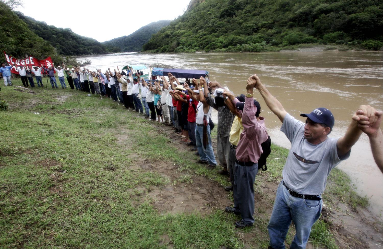 Honduras-protest