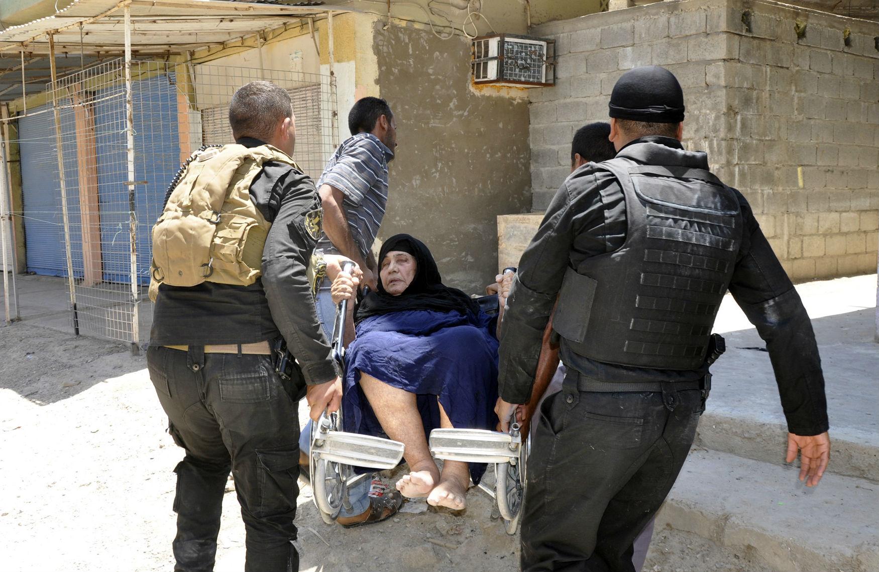 Hurt-woman-Iraq
