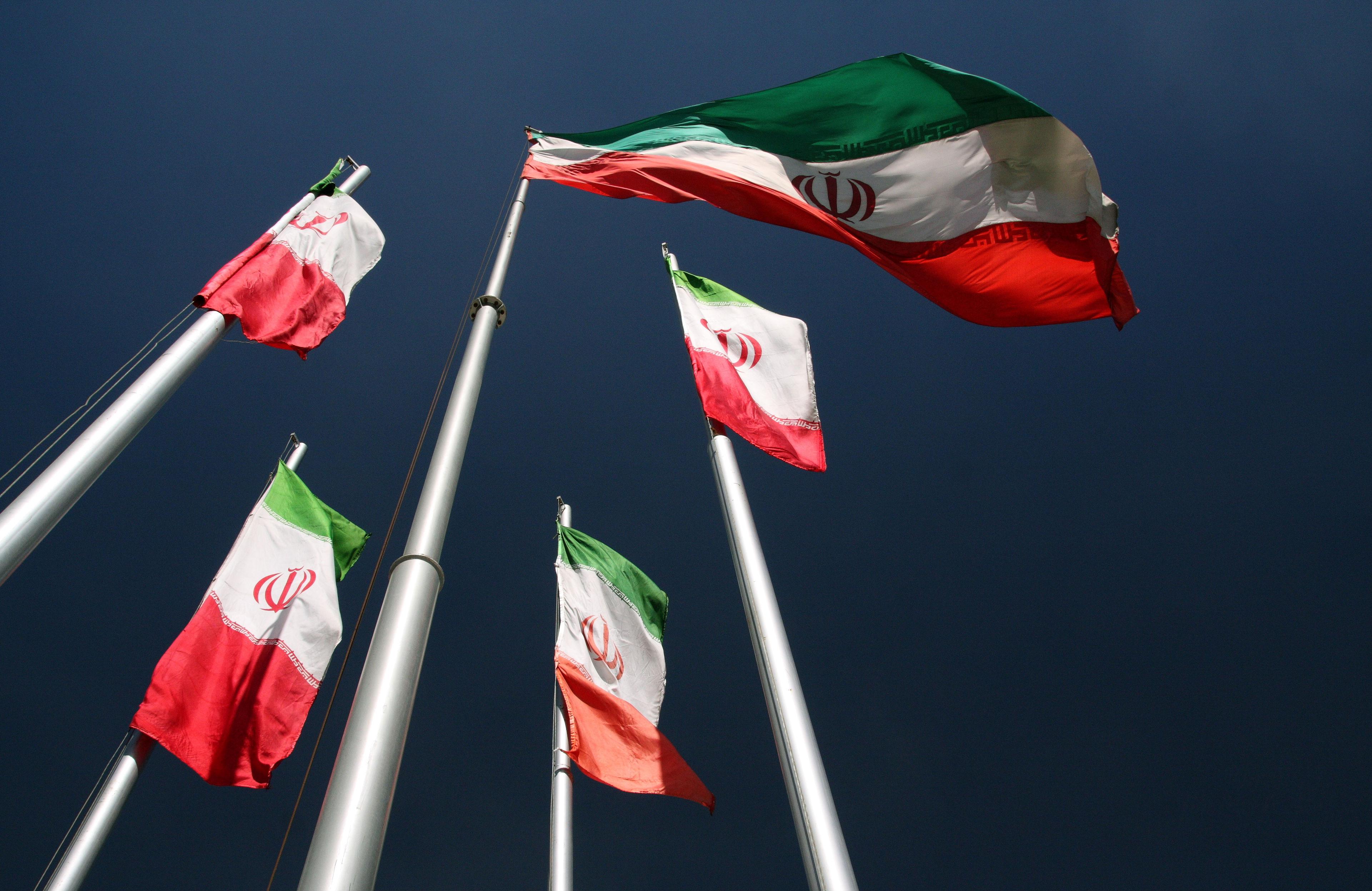 Iran-flags