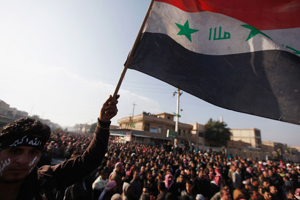 Iraqi-mourner