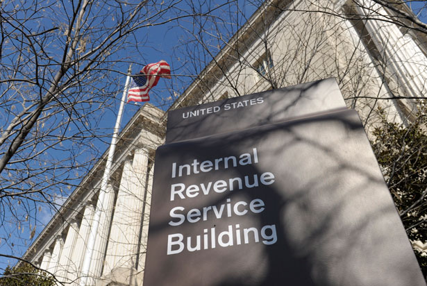 The-exterior-of-the-Internal-Revenue-Service-building.-AP-Photo