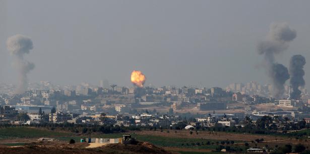 pisrael-strikes-gazap