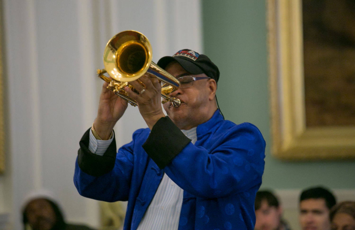 Aging Jazz Artists Sound Note of Protest