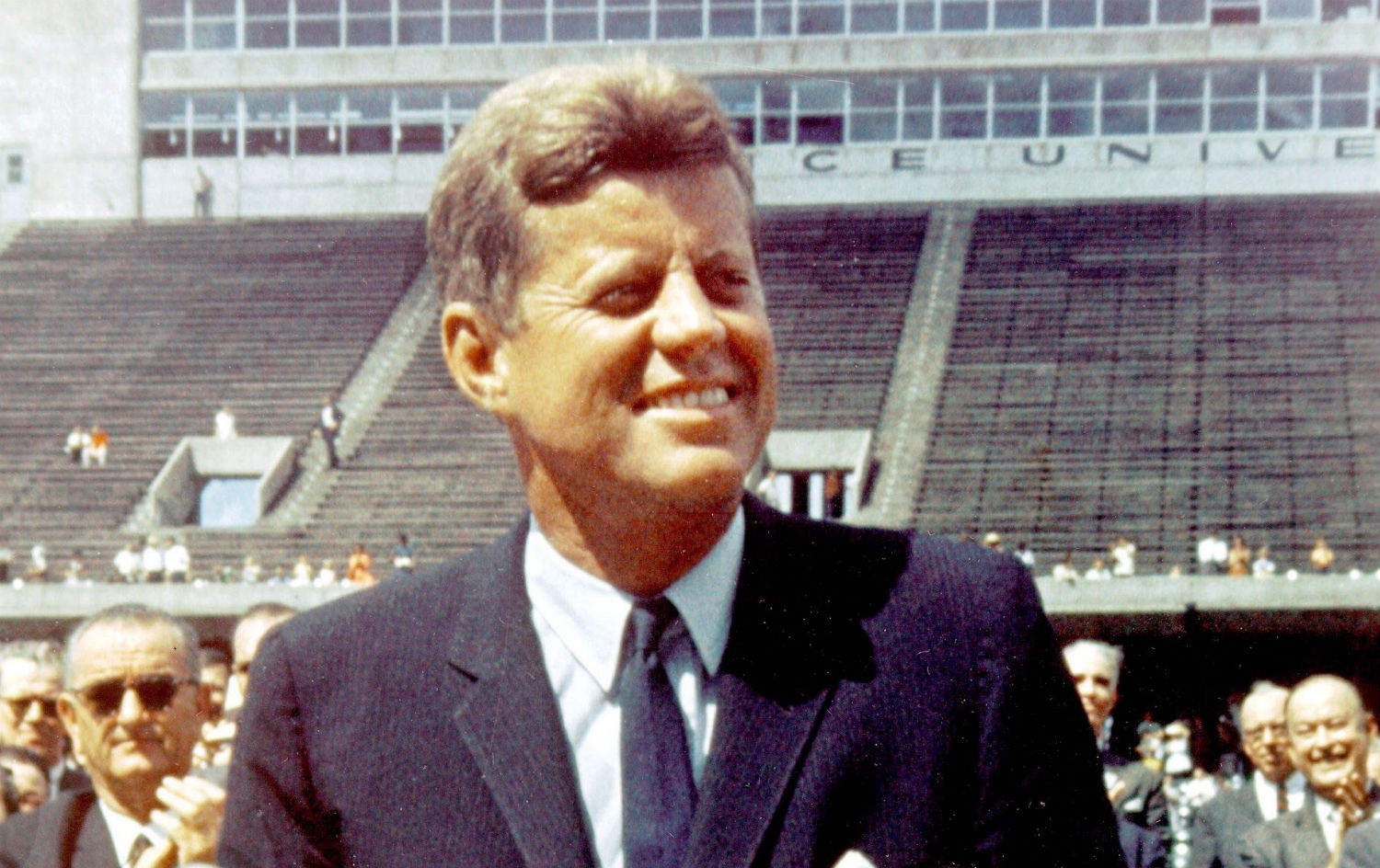 pJohn-F-Kennedy-speaking-at-the-Rice-University-in-Houston-Texas-in-1962.-Courtesy-Everett-Collection-Photo-by-Rex-USAp