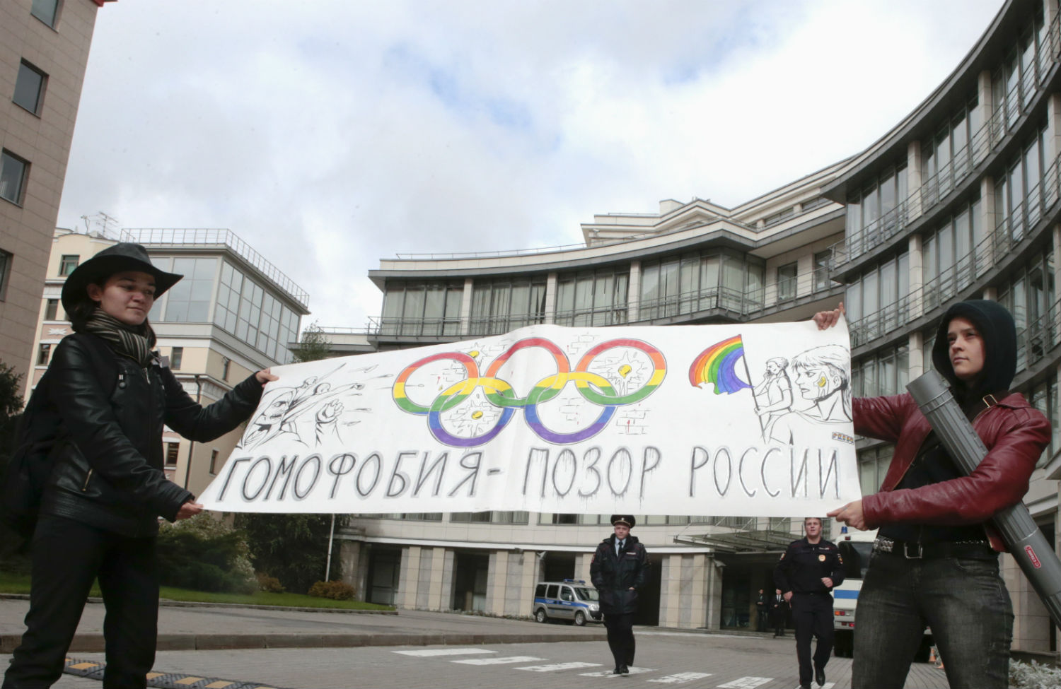 LGBT-activists-protest-Russias-new-anti-gay-laws