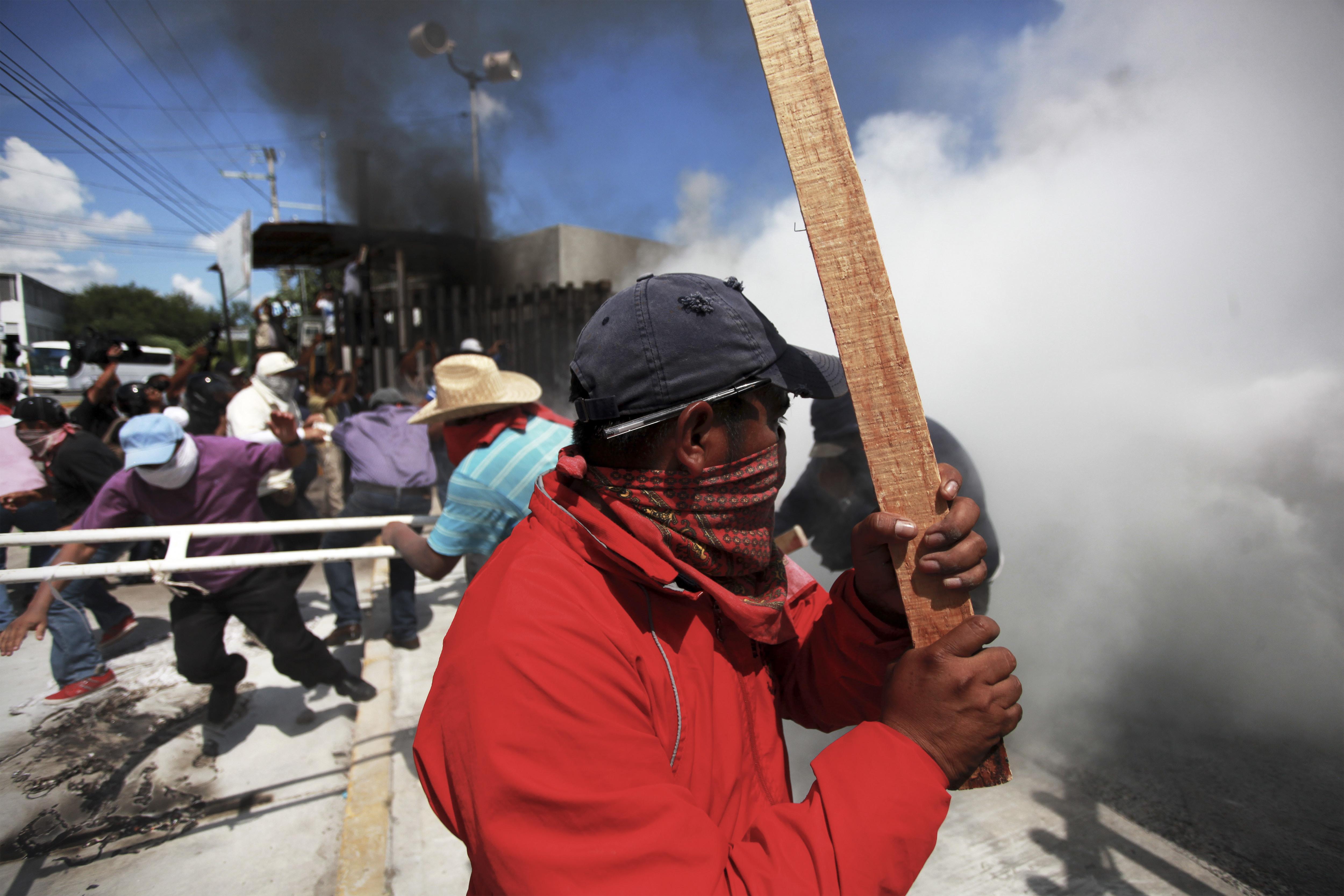 Mexico-Protest