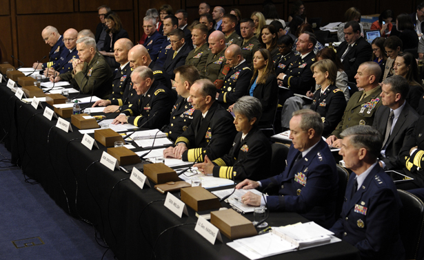 Senate military brass clash on handling sexual assault for Chair joint chiefs of staff