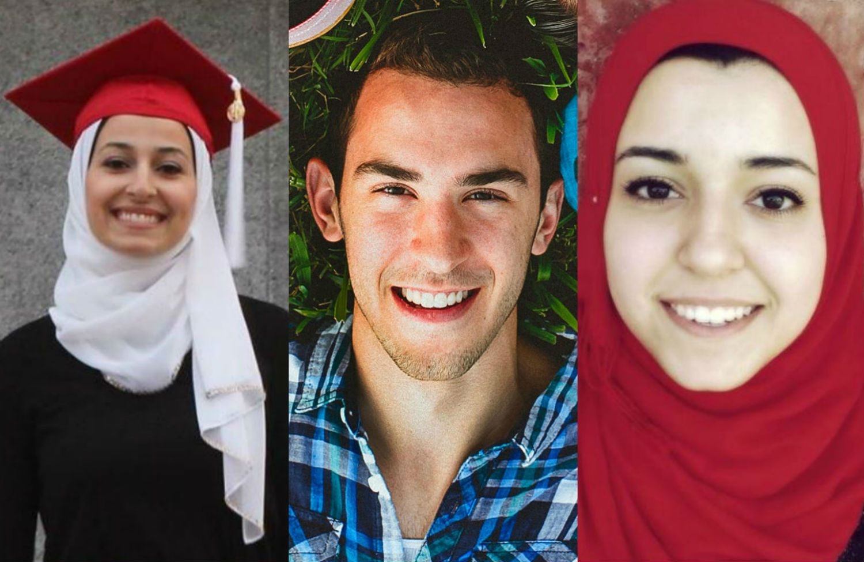 Yusor-Mohammad-Deah-Shaddy-Barakat-and-Razan-Mohammad-Abu-Salha