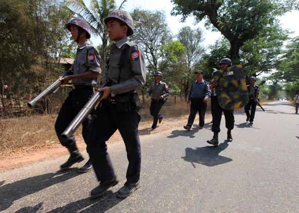 Burma-Police