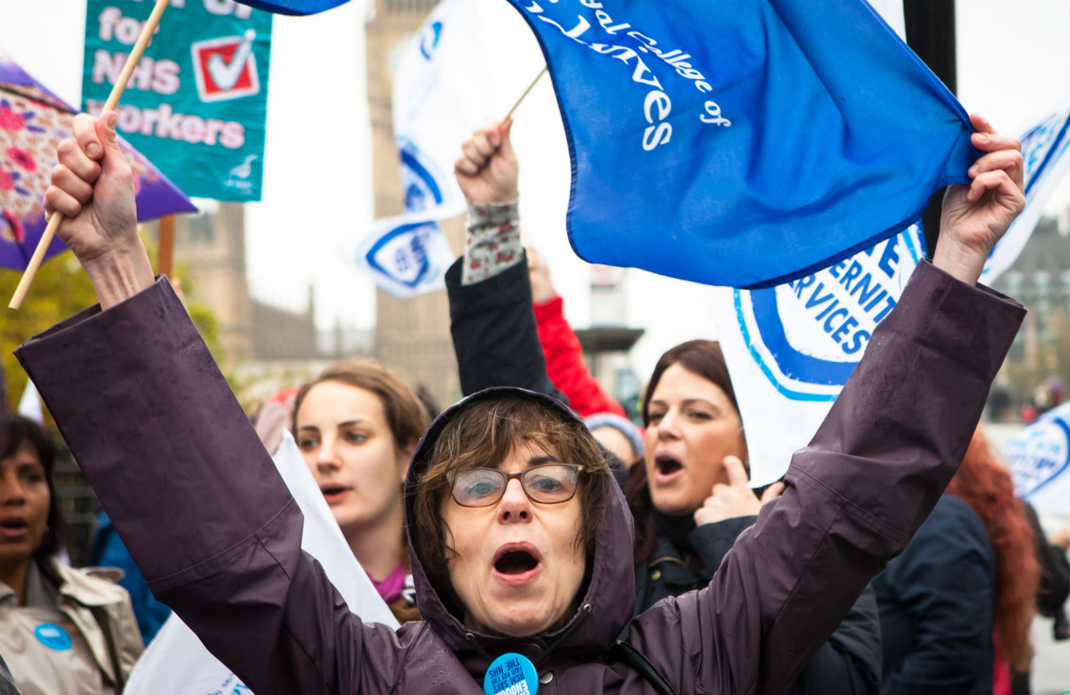 National-Health-Service-midwives-strike-for-fair-pay-in-London