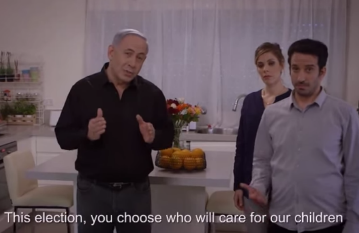 netanyahu remorseless warmongers make the best bibi sitters the benjamin netanyahu s babysitter ad released 31 2015
