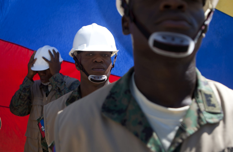 Haitian-army
