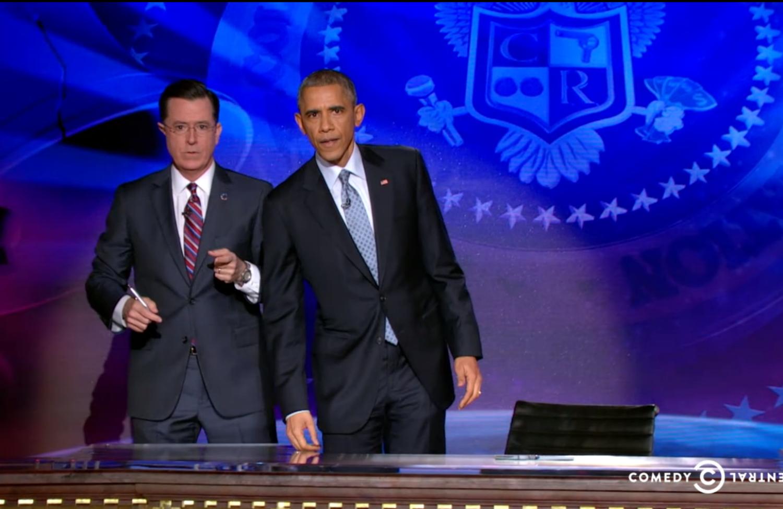 Obama-on-Colbert
