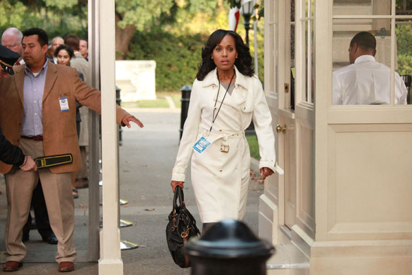 "Kerry Washington in ABC's ""Scandal"""