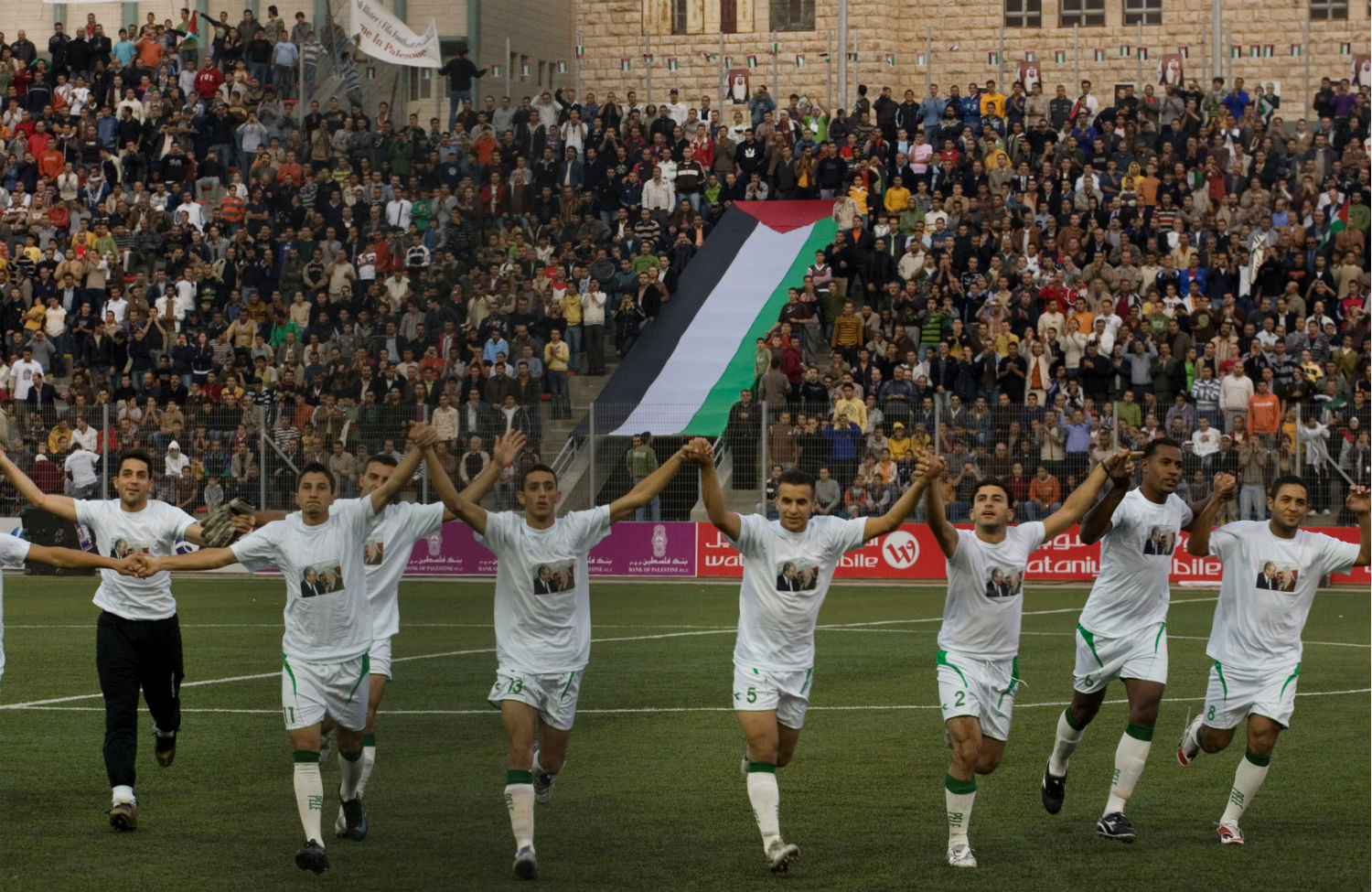 4d4e98c43 The Palestinian national soccer team