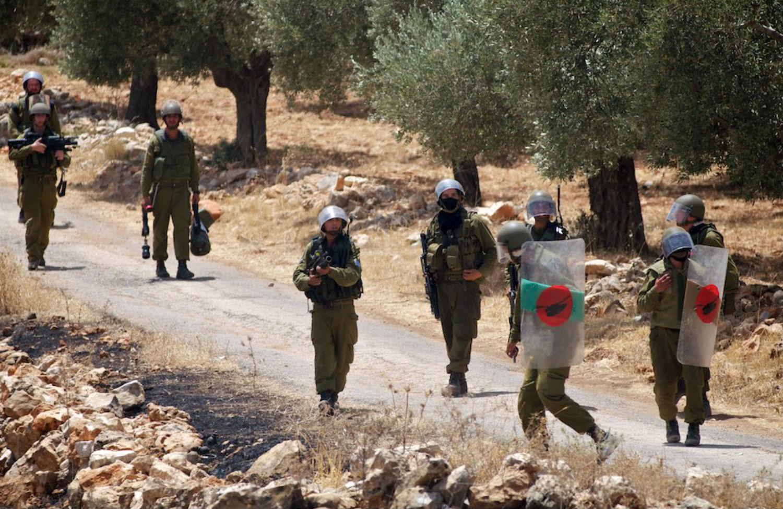Palestinian-demonstrators