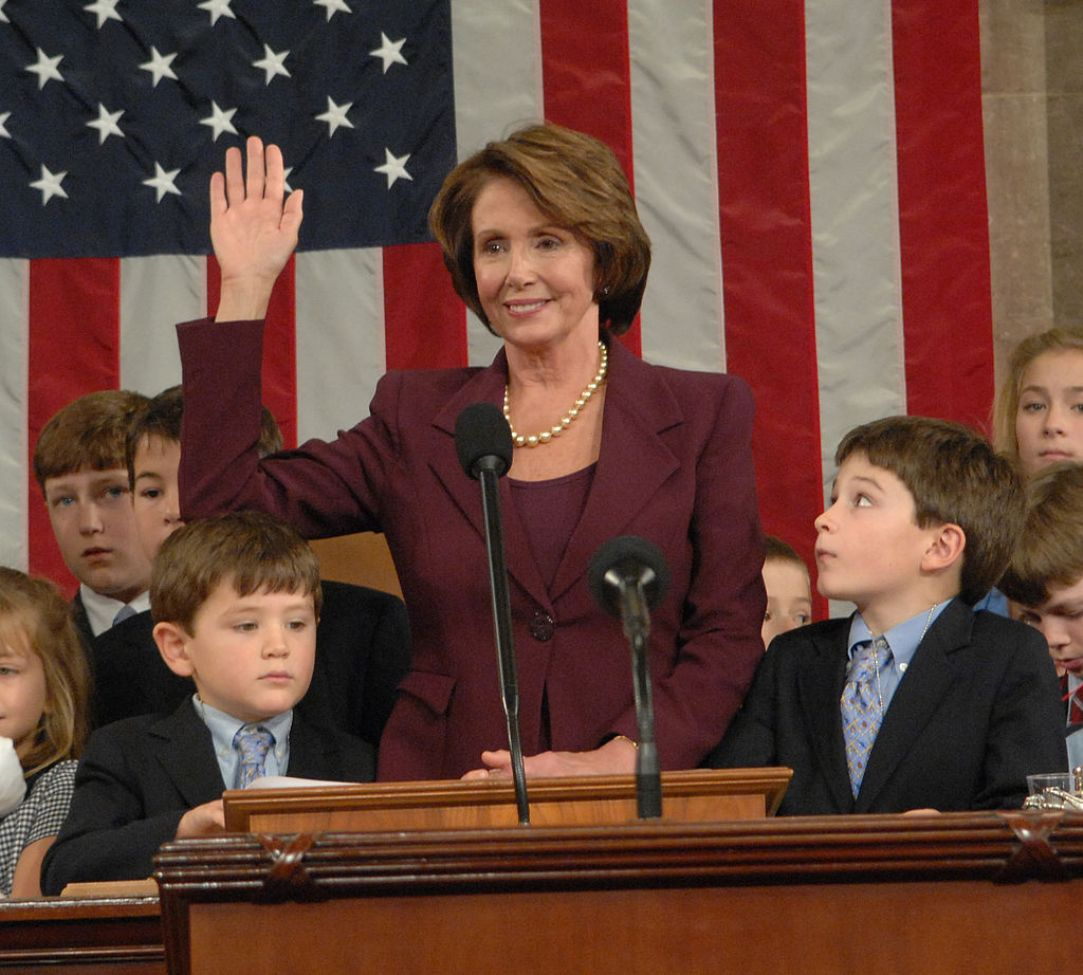 pNancy-Pelosi-swearing-in-as-House-Speakerp