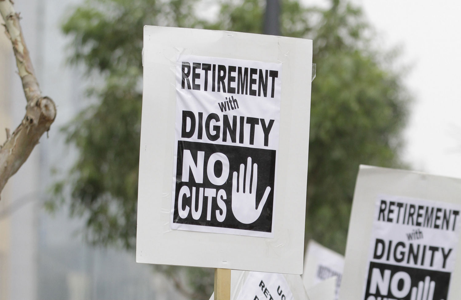 Pension-protest