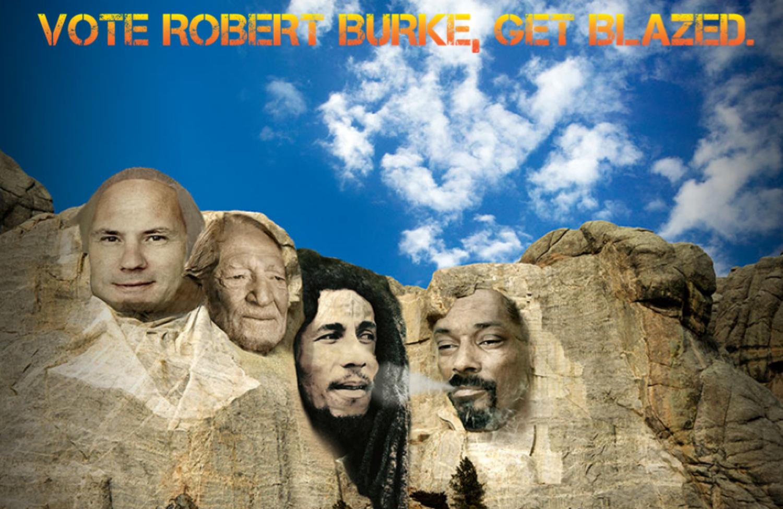 Vote-Robert-Burke-Get-Blazed