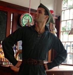 Robin Hood on Halloween