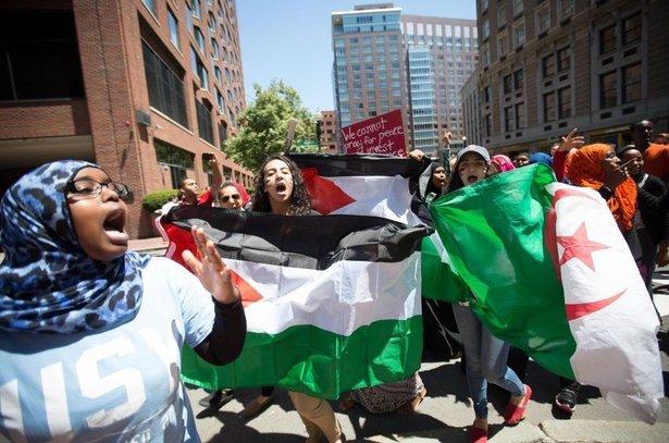 Gaza-protest
