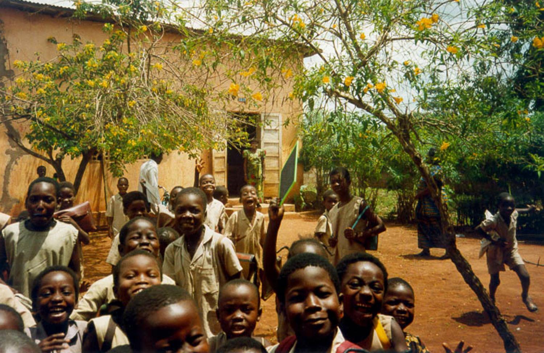 Rwandan-schoolchildren
