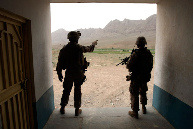 US-Marines-on-patrol-in-an-Afghan-school-building-May-1-2009.-ReutersGoran-Tomasevic