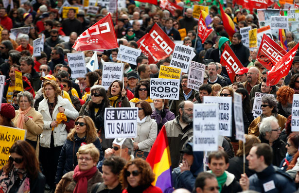 Spain-Anti-Austerity-Protests