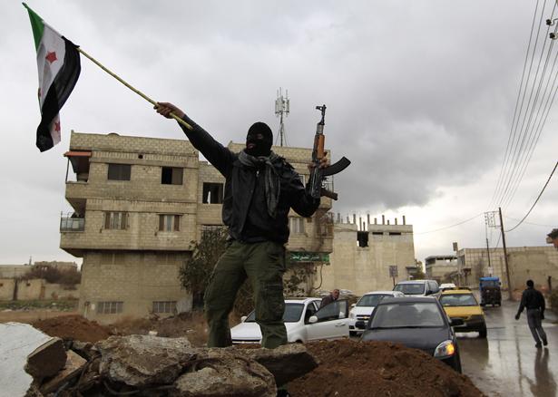 Syrian-solider