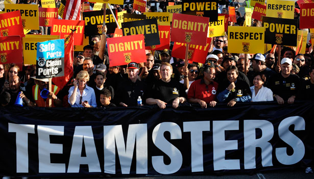 In Industry Where Few Workers Are 'Employees,' Teamsters