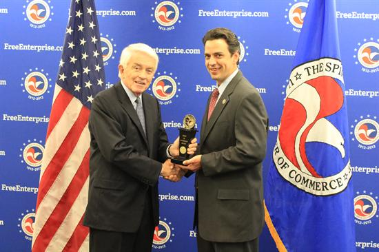 pRep.-Tom-Graves-R-GA-poses-with-Tom-Donohue-to-accept-an-award-from-the-U.S.-Chamber-of-Commercep