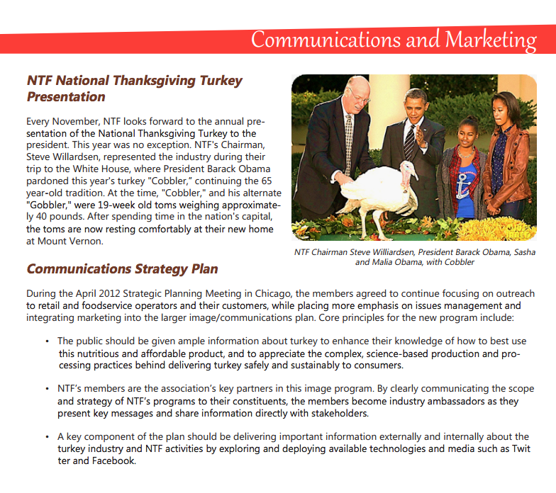 pImage-from-the-National-Retail-Federation-showing-its-role-in-staging-the-White-House-turkey-pardon.-Image-from-the-NTF-2012-annual-report.p