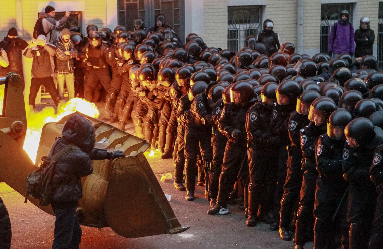 Ukraine-protesters
