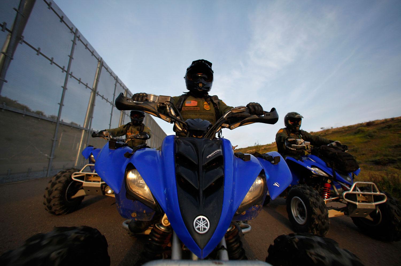 US-Border-Patrol-agents-ride-ATVs-along-the-US-Mexico-border.-ReutersMike-Blake