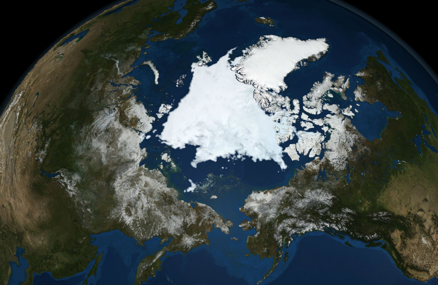 NASA-satellite-image-of-Arctic
